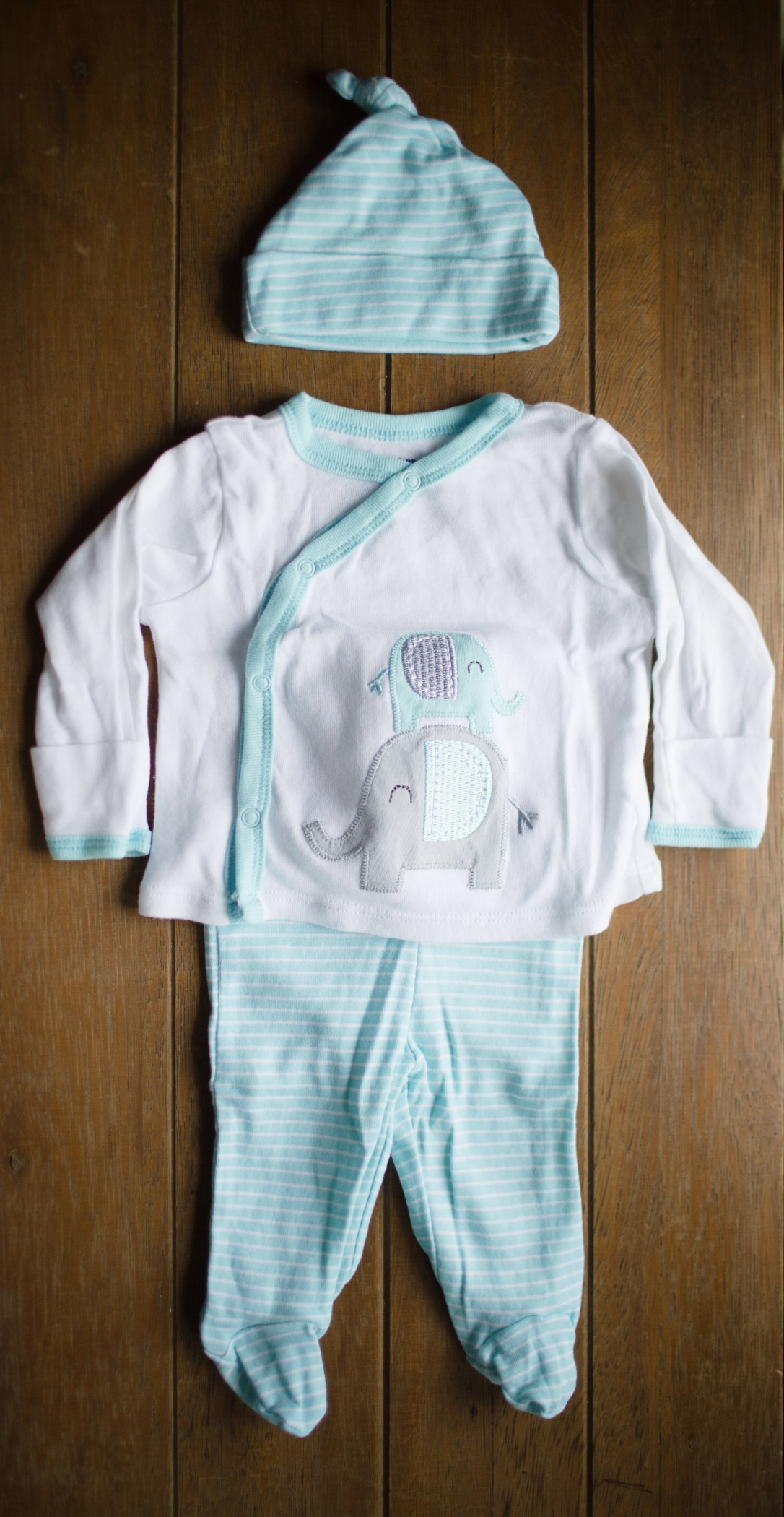 "Gerber Newborn Baby Boy or Girl ""Take-Me-Home"" Outfit Set, 3-Piece"