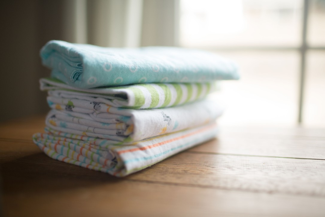 gerber flannel receiving blankets, unisex, gender neutral