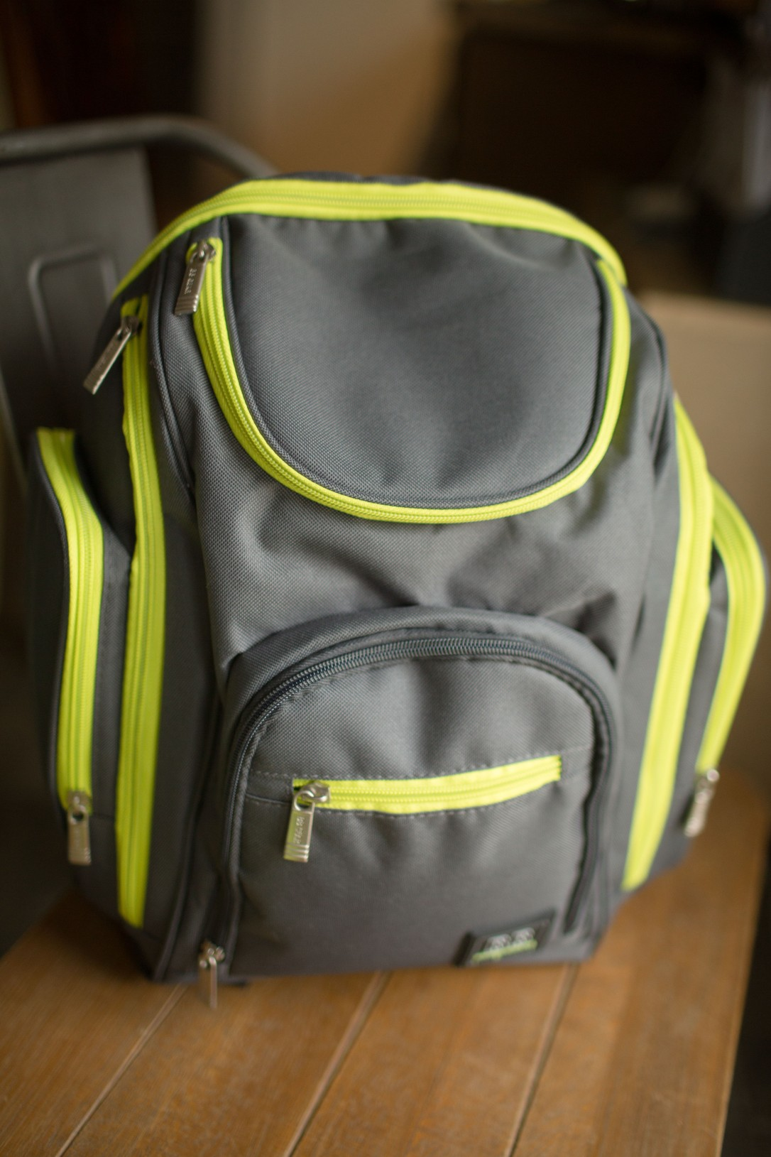 backpack diaper bag, gender neutral, unisex