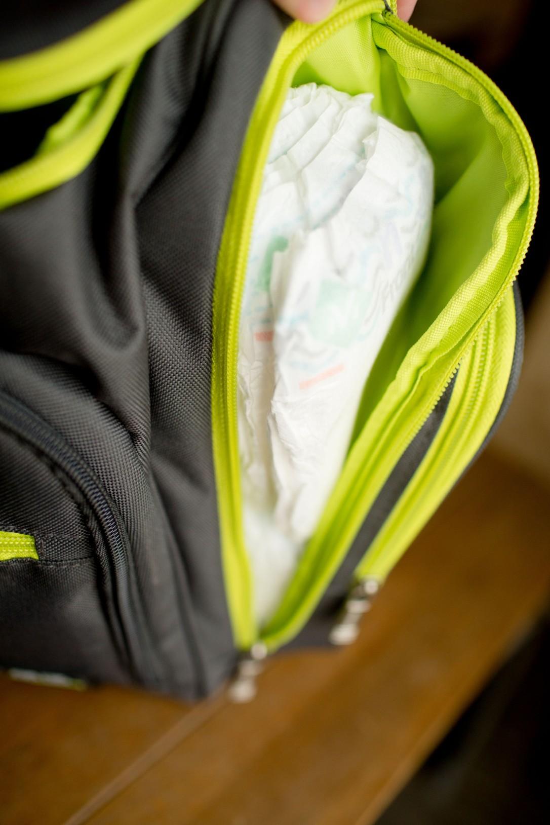 Member's Mark Comfort Care Baby Diapers, Newborn Up to 10 lbs. (108 ct.), Backpack Diaper Bag, Gender Neutral