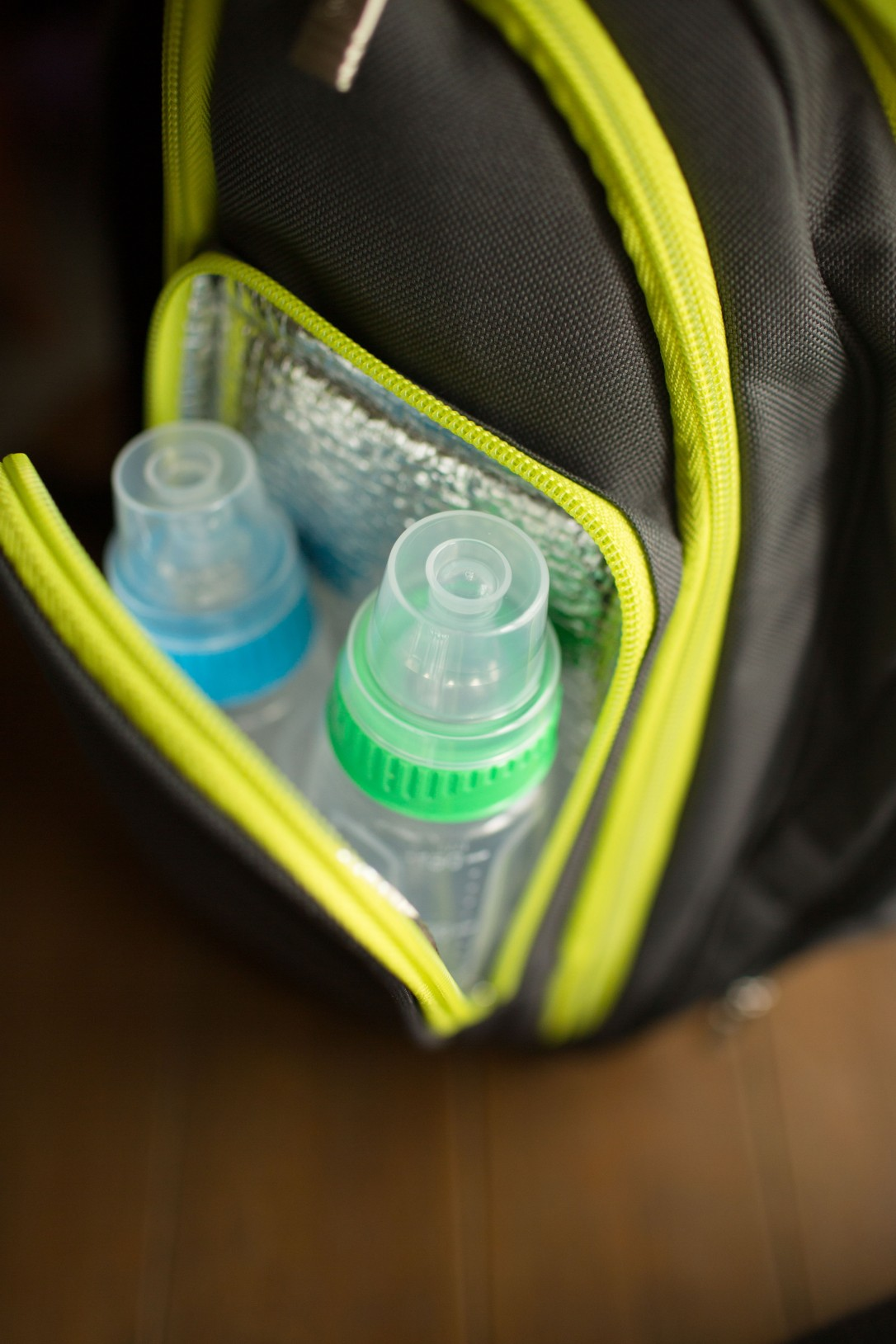 Gerber First Essential Bottles, Backpack Diaper Bag, Gender Neutral