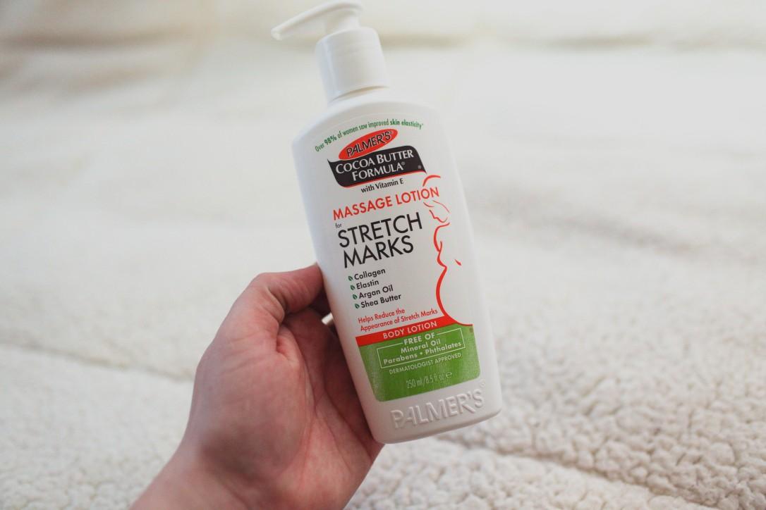 palmer's cocoa butter formula strech marks massage lotion collogen elastin argan oil shea butter body lotion